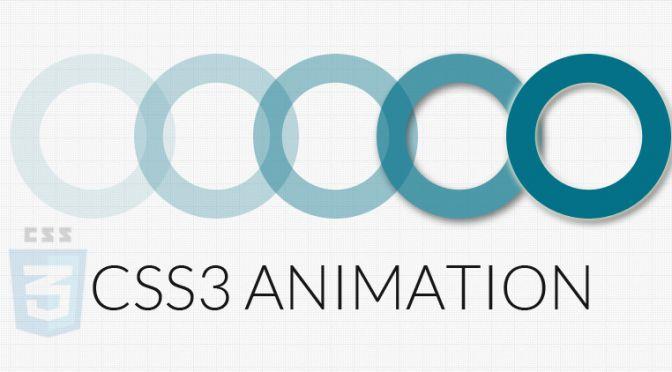 CSS3 y animaciones de elementos